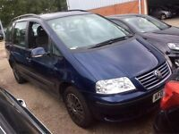 07873 638269 STILL FOR SALE - 2006 VW Sharan 1.9 TDI – AUTO/Tiptronic – DIESEL – 7 SEATS