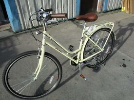 Probike Vintage Ladies 19 Bike Cream New Ex Display Bike