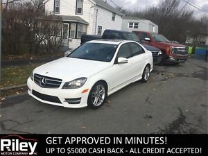 2014 Mercedes-Benz C-Class C300 STARTING AT $243.38 BI-WEEKLY