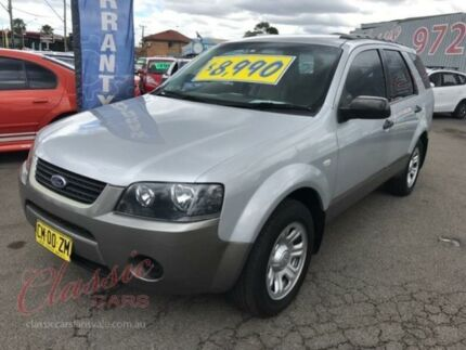 2007 Ford Territory SY TX (RWD) Silver 4 Speed Auto Seq Sportshift Wagon Lansvale Liverpool Area Preview