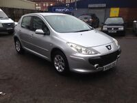 55plate 2005 PEUGEOT 307 - LOOKS/DRIVES GREAT, GOOD SIZED FAMILY HATCHBACK