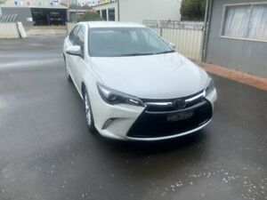 2016 Toyota Camry ASV50R Atara SL Crystal Pearl 6 Speed Sports Automatic Sedan Young Young Area Preview