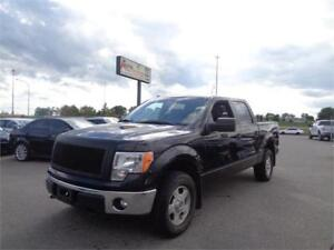 2013 Ford F-150 SuperCrew XLT 4x4 low KM, 6 Passenger C.Exhaust