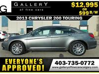 2013 Chrysler 200 TOURING $99 bi-weekly APPLY NOW DRIVE NOW