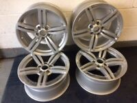 """Full set of 4x BMW 18"""" M6 Alloy Wheels Immaculate (Reps)"""