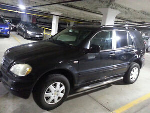 2000 Mercedes-Benz ML 320 SUV,Automatic,ready for test drive