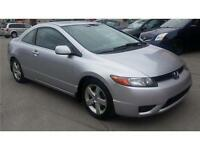 ***2007 HONDA CIVIC COUPE LX***TOIT/AUTO/AC/FULL.