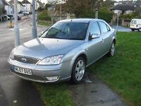 2007 (07) Ford Mondeo Ghia X TDCi 130, 1998cc Diesel, 6 Speed Manual, NEW CLUTCH