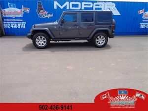2016 Jeep Wrangler Unlimited Sahara 4X4 Both Tops LEATHER !