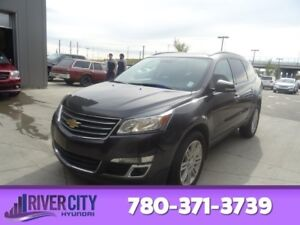 2015 Chevrolet Traverse AWD LT 8 PASSENGER Heated Seats,  Blueto