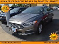 2013 Ford Fusion SE, $49/Weekly, NO PAYMENTS UNTIL 2016