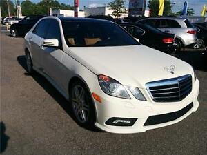 2010 Mercedes-Benz E550, NAV, CAM, MASSAGE CHAIR, 4X4, TOIT PANO