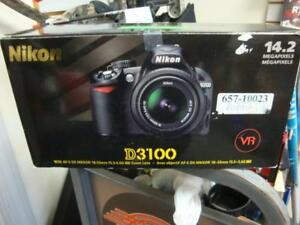 Nikon D3100 DSLR Camera with 18-55mm lense
