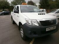 Toyota Hilux Hl2 D/Cab Pick Up 2.5 D-4D 4Wd 144 DIESEL MANUAL WHITE (2012)