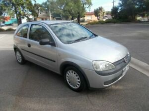 2002 Holden Barina XC Silky Silver 5 Speed Manual Hatchback Alberton Port Adelaide Area Preview