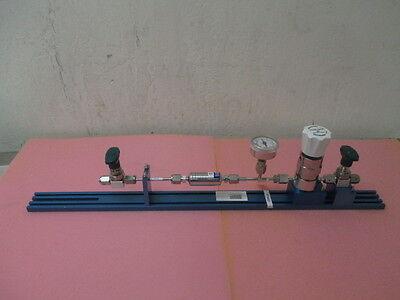 Kinetics Gas Line, w 2 Swagelok 6LV-DAVR4-P, Tescom 74-24P1KR920-067, Pall