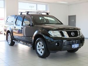 2012 Nissan Navara D40 ST-X 550 (4x4) Black 7 Speed Automatic Dual Cab Utility Morley Bayswater Area Preview