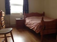 Available soon. Comfortable double room in easy going flat