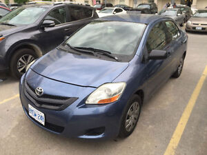2008 Toyota Yaris Sedan with Warranty Certified
