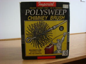 "6"" Poly Chimney Brush with Rods"