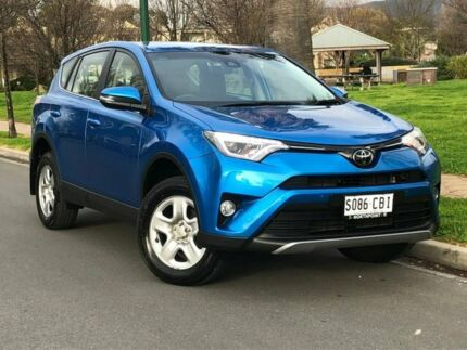 2018 Toyota RAV4 ASA44R GX AWD Blue 6 Speed Sports Automatic Wagon Hillcrest Port Adelaide Area Preview