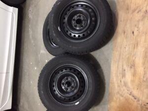 4 Winter Tire's & Rims for sale