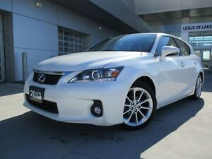2013 Lexus CT 200h Touring, Clean Carproof, Sunroof