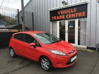 FORD FIESTA 1.2 STYLE PLUS 5d 81 BHP (red) 2009