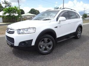 2013 Holden Captiva CG MY13 7 CX (4x4) White 6 Speed Automatic Wagon Bungalow Cairns City Preview