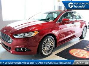 2014 Ford Fusion TITANIUM AWD LEATHER NAV ROOF LOADED