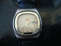 MANS VINTAGE SEIKO AUTOMATIC WATCH 1970S