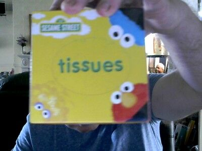 SESAME STREET BOX  60 3 PLY TISSUES NOTHING 2 BE SNIFFED AT CHRISTMAS GIFT!