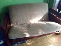 Wood Framed Futon