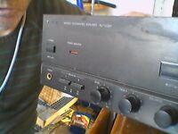 Amplifier hi fi technics