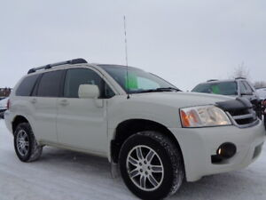 SOLD___2008 MITSUBISHI ENDEAVOR LIMITED-AWD-LEATHER-SUNROOF-NAVI