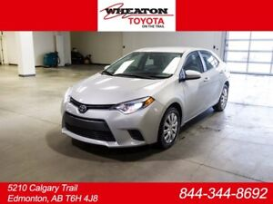 2017 Toyota Corolla LE UPGRADE, SAFETY SENSE, HEATED SEATS, HEAT