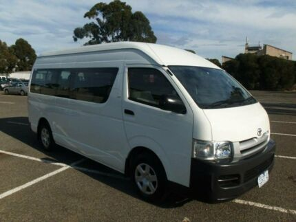 2007 Toyota Hiace TRH223R MY07 Commuter White 4 Speed Automatic Bus Maidstone Maribyrnong Area Preview