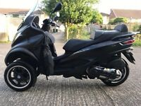 Piaggio MP3 sport 500 LT ABS Matt Black