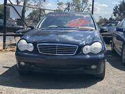 2002 Mercedes-Benz C200 W203 Kompressor Classic Blue 5 Speed Automatic Sedan Werribee Wyndham Area Preview