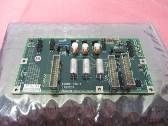 Nikon 4S008-005-A Interface Control Board, PCB, STGX23A, 100081, 424430