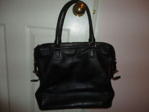 Authentic Black Leather Guess by Mariano Purse/Bag