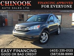 2011 Honda CR-V EX-L 4WD -No Accident,Navi,Leather,Sunroof,Hitch