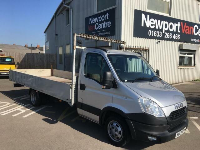 2013 63 IVECO DAILY C CLASS 3.0TD 35C15 XLWB DROPSIDE
