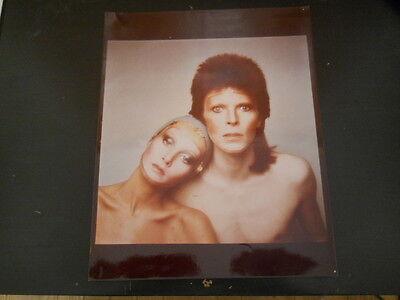 David Bowie, Twiggy - 8x10 Color Photo