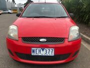 2007 Ford Fiesta WQ LX Red 4 Speed Automatic Hatchback Hoppers Crossing Wyndham Area Preview