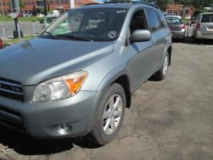 TOYOTA RAV4 2007 LIMITED LEATHER ,ROOF,MAGS, LOW KM WARRANTY