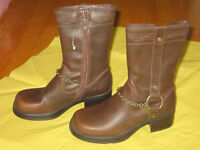 Girl's Tall Brown Boot - Size 13.5 (New)