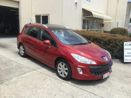 2008 Peugeot 308 XSE Red 4 Speed Automatic Hatchback Maroochydore Maroochydore Area Preview