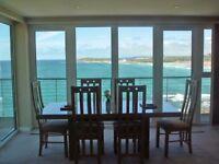 holiday apartment Fistral Beach, Newquay, Cornwall. Half Term deals