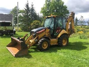 2009 Caterpillar 420 E IT 4X4 Backhoe